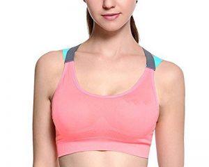 Brassière Femme Sport Soutien Gorge Running Yoga Brassière Avec Amovible Rembourré Sans Armature de la marque LaoZan image 0 produit
