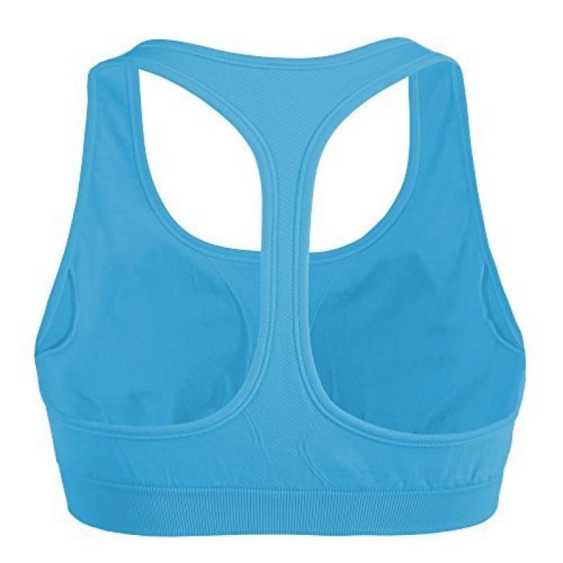 Absorbeur de Choc Zippé Active Multi Soutien-gorge de Sport Exercice Gym Course Entraînement Yoga