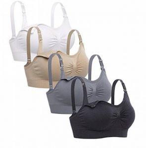 Cimary Soutien-gorge de maternité sans couture pour femmes (Lot de 4) de la marque Cimary image 0 produit