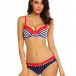 Colfeel Femme 2 Pièces Push Up Bikini Maillots de bain Triangle Swimwear Bresilien de la marque Colfeel image 1 produit