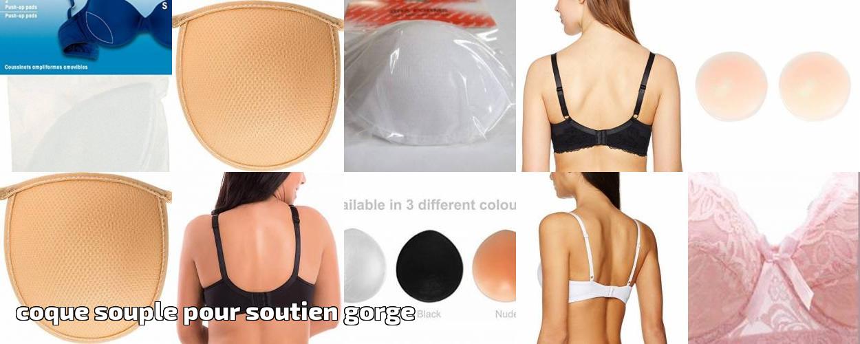 Nortexx 34-inch Bonnets moul/és souples pour soutien-gorge Blancs