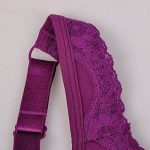 Delimira Femme Souple Coton Soutien-Gorge Sans Armatures Tulle Brodé de la marque Delimira image 2 produit