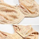Delimira Femme Soutien-Gorge Minimiseur Emboitant Grande Taille à Armature de la marque Delimira image 3 produit