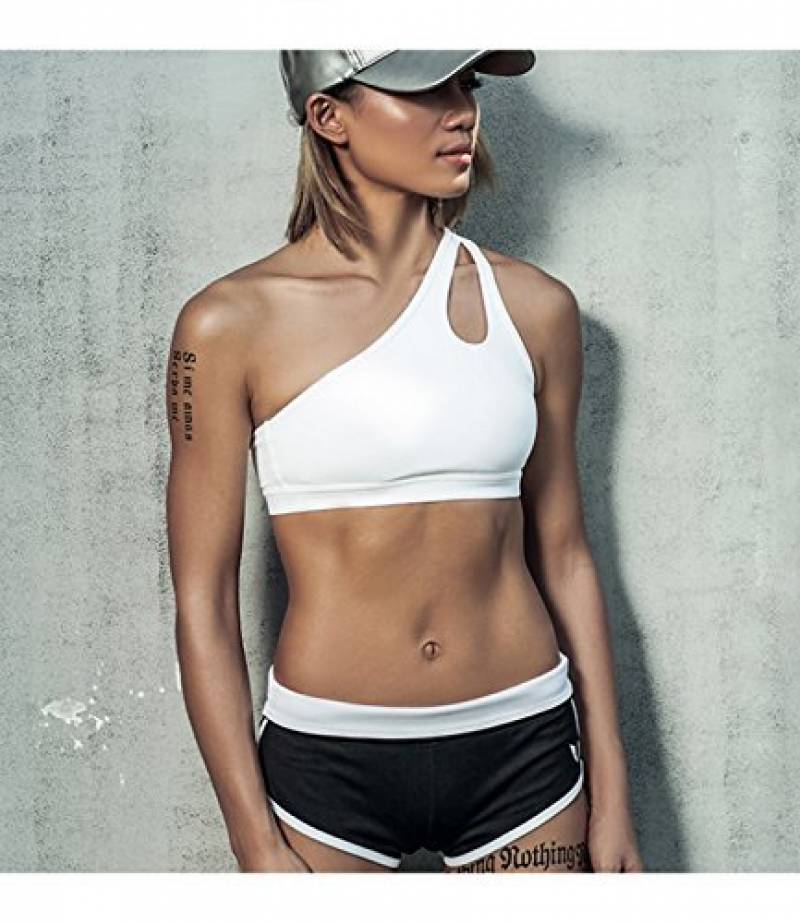 DYLH Brassière Femme Soutiens-gorge de sport Creux Sans Armature Lingerie  Brassière Fitness Soutiens-gorge Sportive Bra Yoga Jogging de la marque DYLH 6606d1566e0