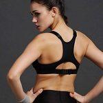 Encounter Femme Soutien-gorge de Sport Sous-vêtements Bra Brassière pour jogging Yoga Gym Fitness de la marque Encounter image 1 produit