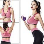 Femme Soutien-Gorge de Sport Push Up Brassière Coussinet Amovible Sans Armature Top pour Fitness Jogging Yoga Course Taille S-3XL de la marque Cindeyar image 4 produit