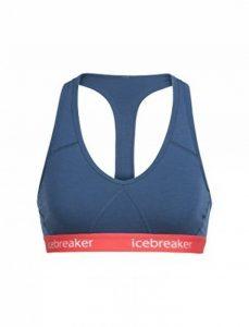Icebreaker Wmns Sprite Racerback Bra Brassière de Sport Femme de la marque Icebreaker image 0 produit