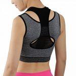 iLoveSIA Top Soutien-Gorge de Sport Brassière Femme Gym Fitness sans Armature Gris chiné de la marque iLoveSIA image 2 produit