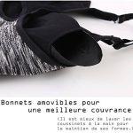 INIBUD Brassière Sport Femme Lot de 5 / 3 / 2 S M L XL Soutien-Gorge de Sport Space Dye Coussinet Amovible Sans Couture Sans Armature de la marque INIBUD image 5 produit