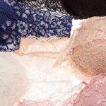 Intimate Portal Femme Soutien-Gorge tout en Dentelle Sans Armatures, pour dormir avec poches de la marque Intimate Portal image 4 produit