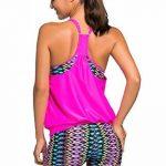 Nuoreel Femme Maillot de bain Push up Top Bra Bikini Taille Grande - Haute qualite de la marque Nuoreel image 3 produit