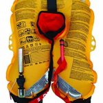 ORANGE MARINE Gilet de sauvetage gonflable automatique avec harnais 150 N de la marque ORANGE MARINE image 1 produit