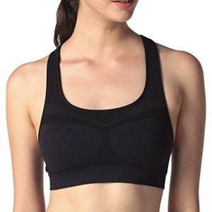 Soutien-gorge/Brassière Sport Femme Lapasa Sans Couture Sans Armature Dos Nageur Cool-tech - Yoga Fitness Jogging Gym de la marque Lapasa image 0 produit
