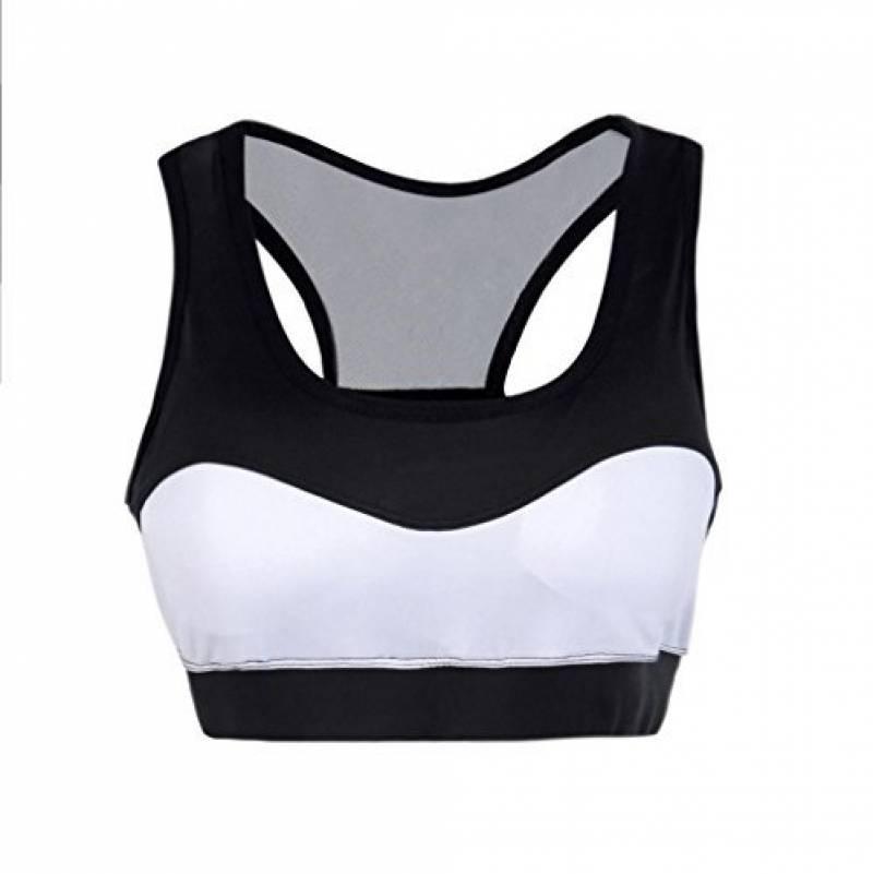 Soutien-gorge de sport Angelof Femmes Brassiere Fille Gym Yoga Workout Sans  Armature Lingerie Running RembourréS Vestes De Fitness Bra de la marque  Angelof 8252f046952