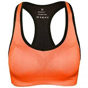 Soutien-Gorge de Sport Femme Sans Armature Push Up Bra Yoga Jogging Fitness Course Sports Brassière Professionnel de la marque DEBAIJIA image 0 produit