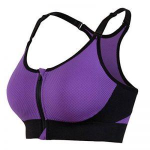 ... Sport sans Armature Femme pour Yoga Courir Fitness Running avant Zipper  Push Up Bra de la marque YiJeee · soutien gorge fermeture devant pas cher  TOP 10 ... fa1f9ac592e