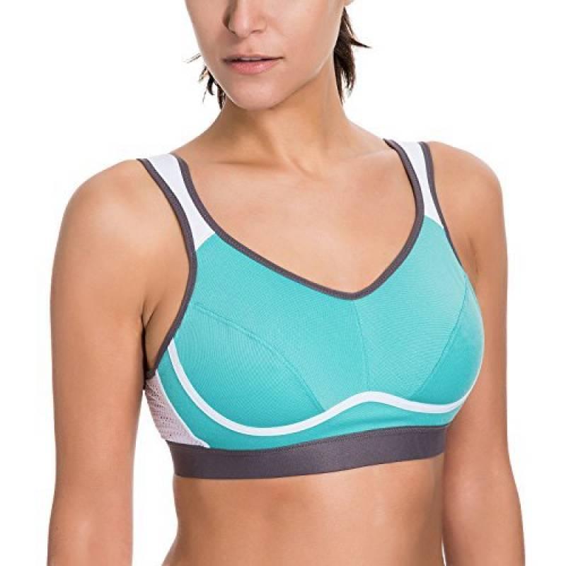 Notre sélection de brassière sport fort impact   Note Amazon. SYROKAN Femme  Soutien-Gorge ... 2a642914897