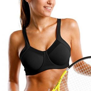 SYROKAN Femme Soutien Gorge de Sport Max Sport Armatures Dos Nageur de la marque SYROKAN image 0 produit