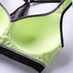 SYROKAN Femme Soutien Gorge de Sport Sans Armature Dos Nageur Maintien Niveau 2 de la marque SYROKAN image 3 produit