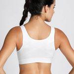SYROKAN Femme Soutien Gorge Sport Level 3 Zippée Devant X-shape Back Sans Armatures de la marque SYROKAN image 1 produit