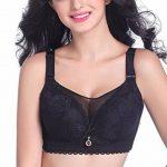 Yiiquan Femmes Hiver Grande Taille Sans Armature Soutien-gorge Push Up Bra Dentelle Grand Cup de la marque Yiiquan image 1 produit