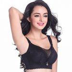 Yiiquan Femmes Hiver Grande Taille Sans Armature Soutien-gorge Push Up Bra Dentelle Grand Cup de la marque Yiiquan image 2 produit
