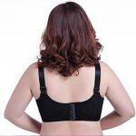 Yiiquan Femmes Slim Soutien-Gorge Grande Taille Lingerie Sous-vêtement Dentelle Non Rembourré de la marque Yiiquan image 3 produit